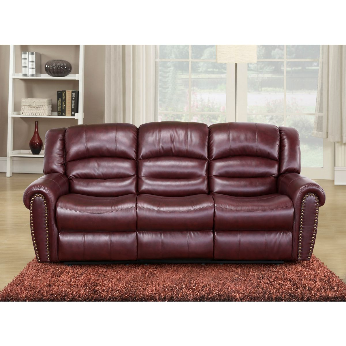 living room ideas with burgundy leather sofa katisha platinum 5 piece sectional left chaise chelsea 54 bank
