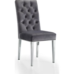 Black Dining Room Chairs With Chrome Legs Theater Home Entertainment Ideas