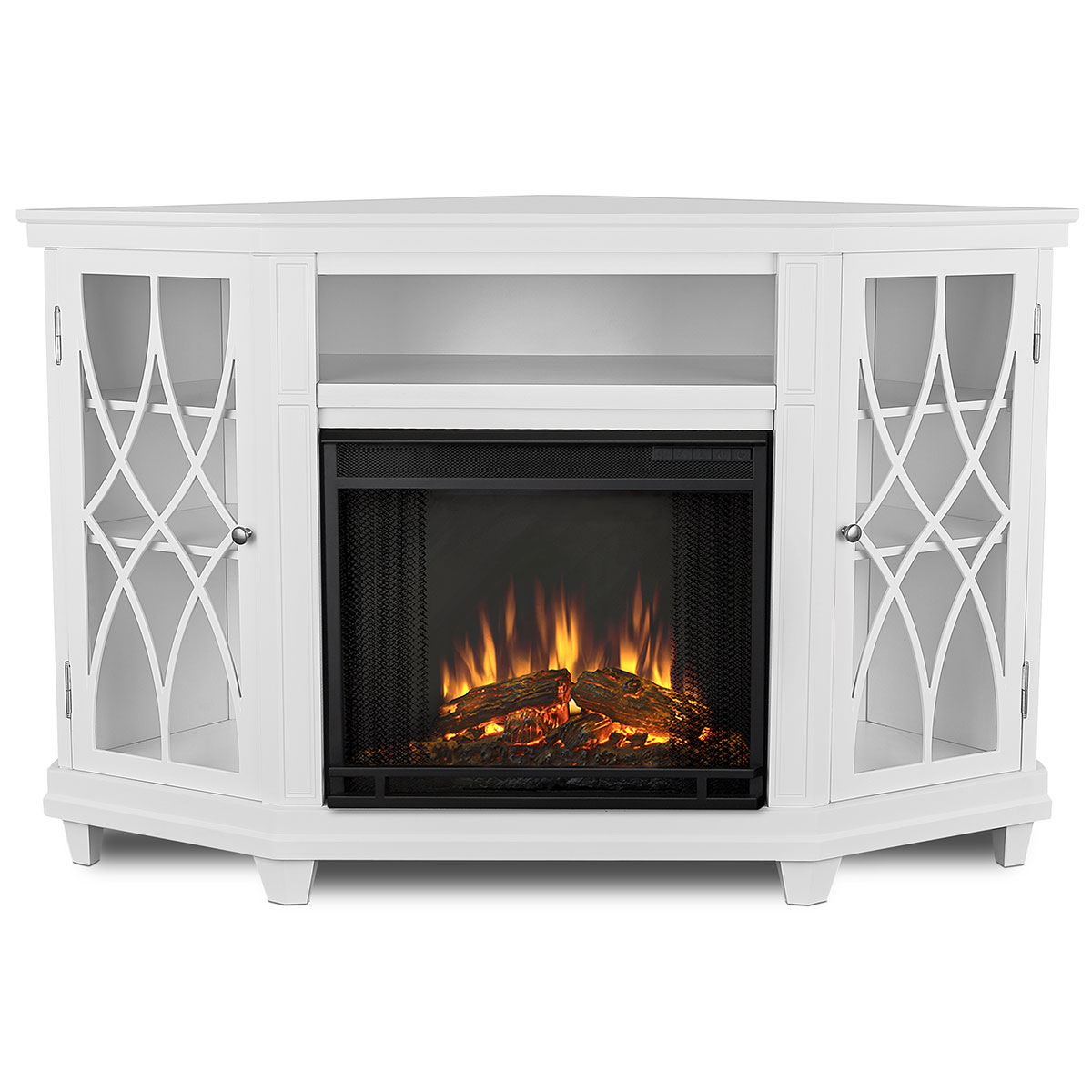Corner Ventless Electric Fireplace