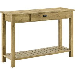 Country Cote Sofa Table Flexsteel Dylan Power Reclining Walker Edison Af48cyetbw 48 Quot Style Entry Console
