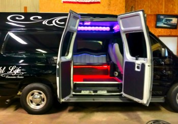 Party Van Doors Open