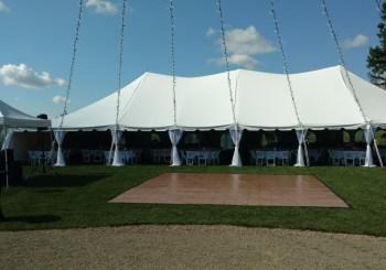 Tent & Dance Floor Decor