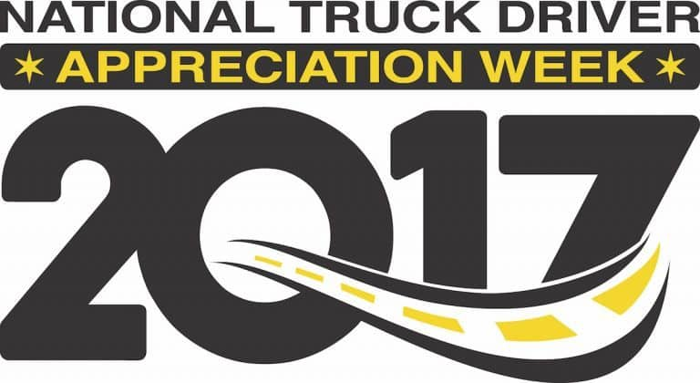 National Truck Driver Appreciation Week 2017