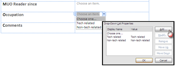 word forms07   Make A Fillable Form In Word 2010 & Collect Data The Easy Way