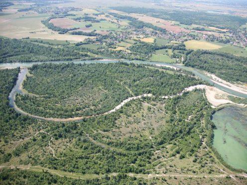 Vue aérienne de l'Ain : maîtrise d'œuvre et suivi post-travaux