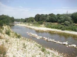 Vue de la rivière Beaume