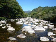 BEAUME - Hydromorphologie : vue sur la rivière