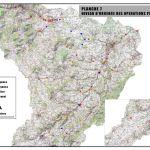 Cartographie des niveaux d'urgence des opérations prescrites