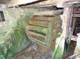 Dans le cadre de la maîtrise d'œuvre de la continuité écologique des rivières Gizia et Sonnette, une photo du moulin hydraulique encore en fonction