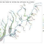 Grésivaudan - Plan de gestion global - cartographie pentes et fond de vallée affluents de l'Isère