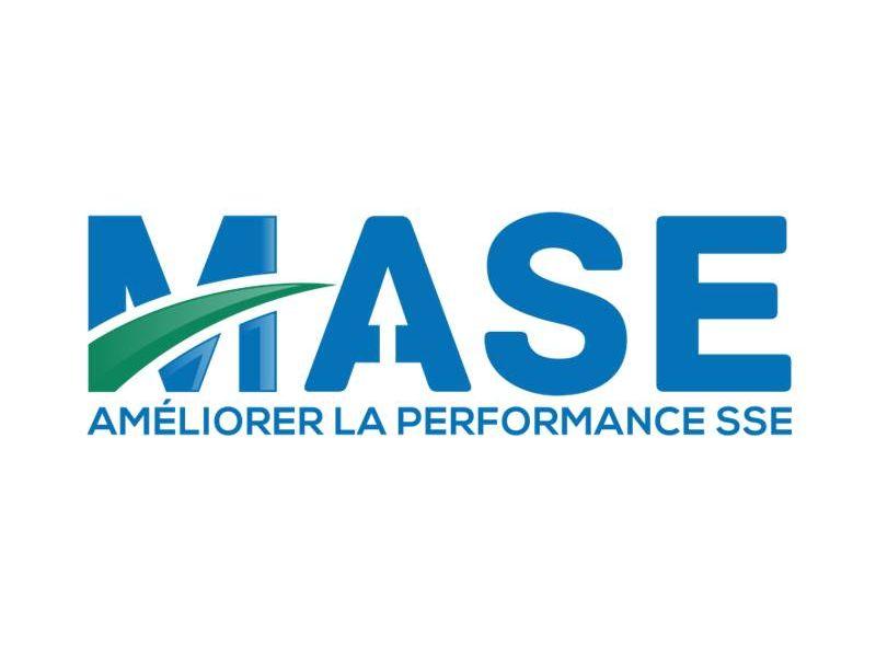Logo de l'association MASE (management sécurité santé et environnement sse