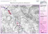 Cartographie SIG sous ArcGis de la production sédimentaire du bassin versant du Roubion
