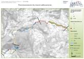 Cartographie SIG sous ArcGis du transit et du stockage sédimentaire du bassin versant du Roubion