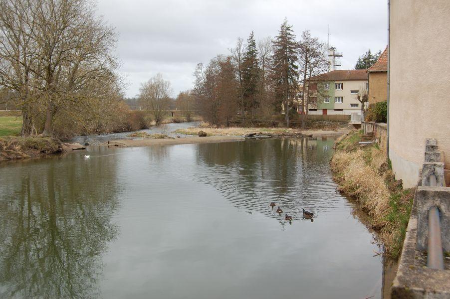 Avant-projet : Vue sur la rivière Sornin dans Charlieu