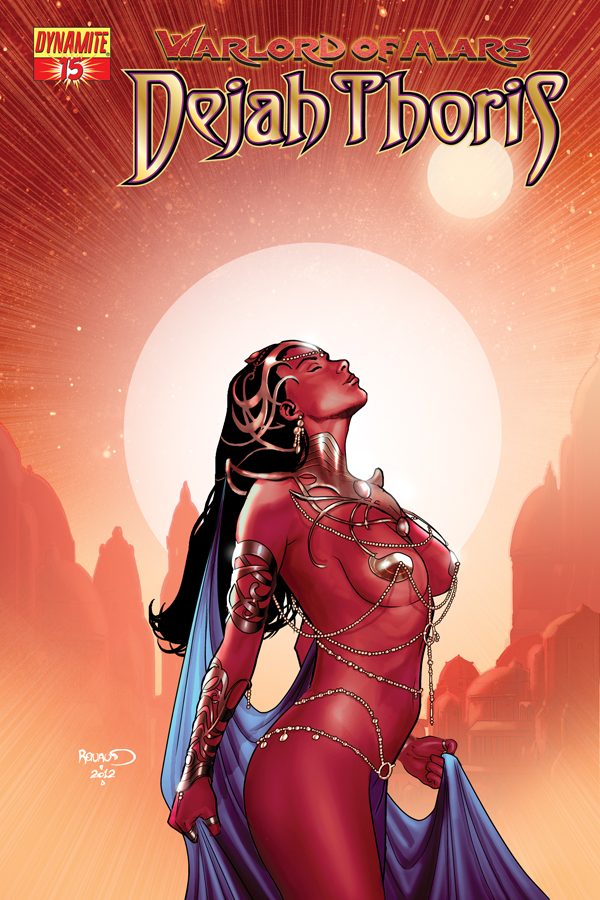 Dynamite Warlord Of Mars Dejah Thoris 15