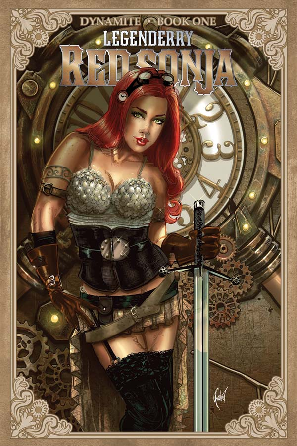 Dynamite Legenderry Red Sonja 1 Of 5