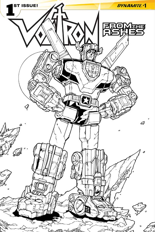 Dynamite® Voltron: From The Ashes #1 (Of 6)