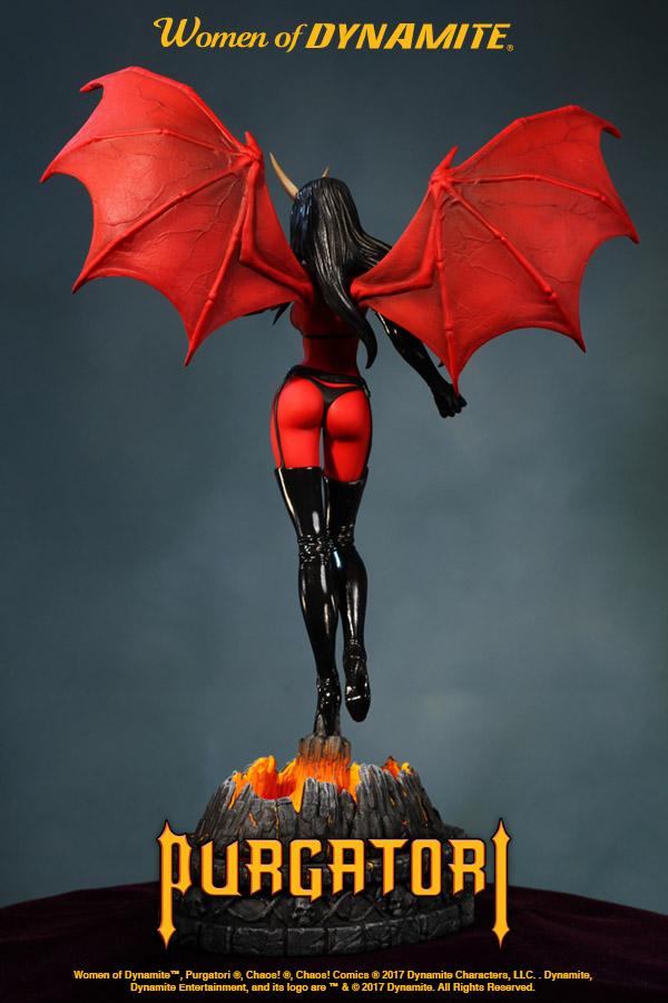 Dynamite Women Of Dynamite Purgatori  Artist Proof Statue