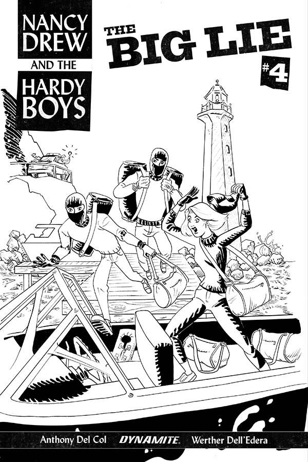 Dynamite® Nancy Drew & The Hardy Boys: The Big Lie #4