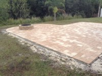 Backyard paver patio Tampa, Pavers Tampa, Firepit builders ...