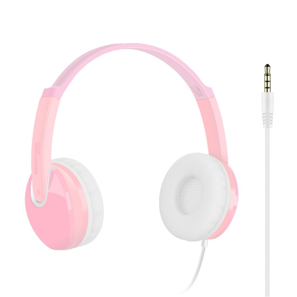 medium resolution of picture of promate kids over the ear wired stereo headset with hd sound
