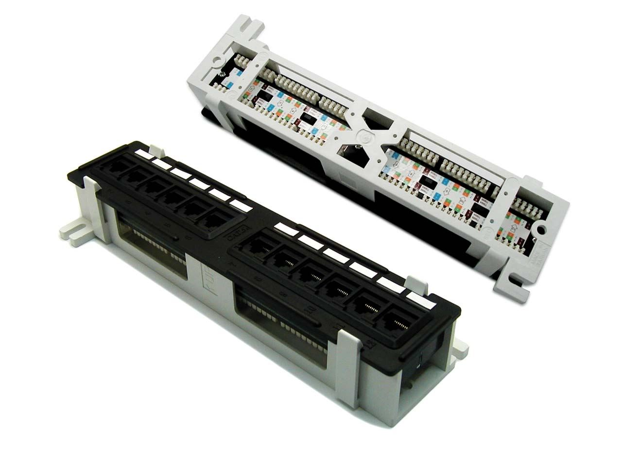hight resolution of picture of dynamix mini 12 port patch panel cat6 t568a t568b wiring