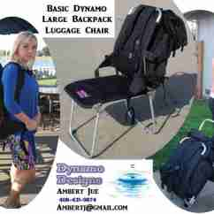 Backpack Chairs Lounge Chair Cushions Target Welcome To Dynamo Designs The Luggage Companions Dynamodesigns Us Order Now