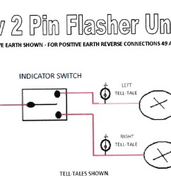 wiring diagram for flasher relay simple wiring schema flasher wiring diagrams for units 5 blade flasher wiring diagram [ 2464 x 1088 Pixel ]