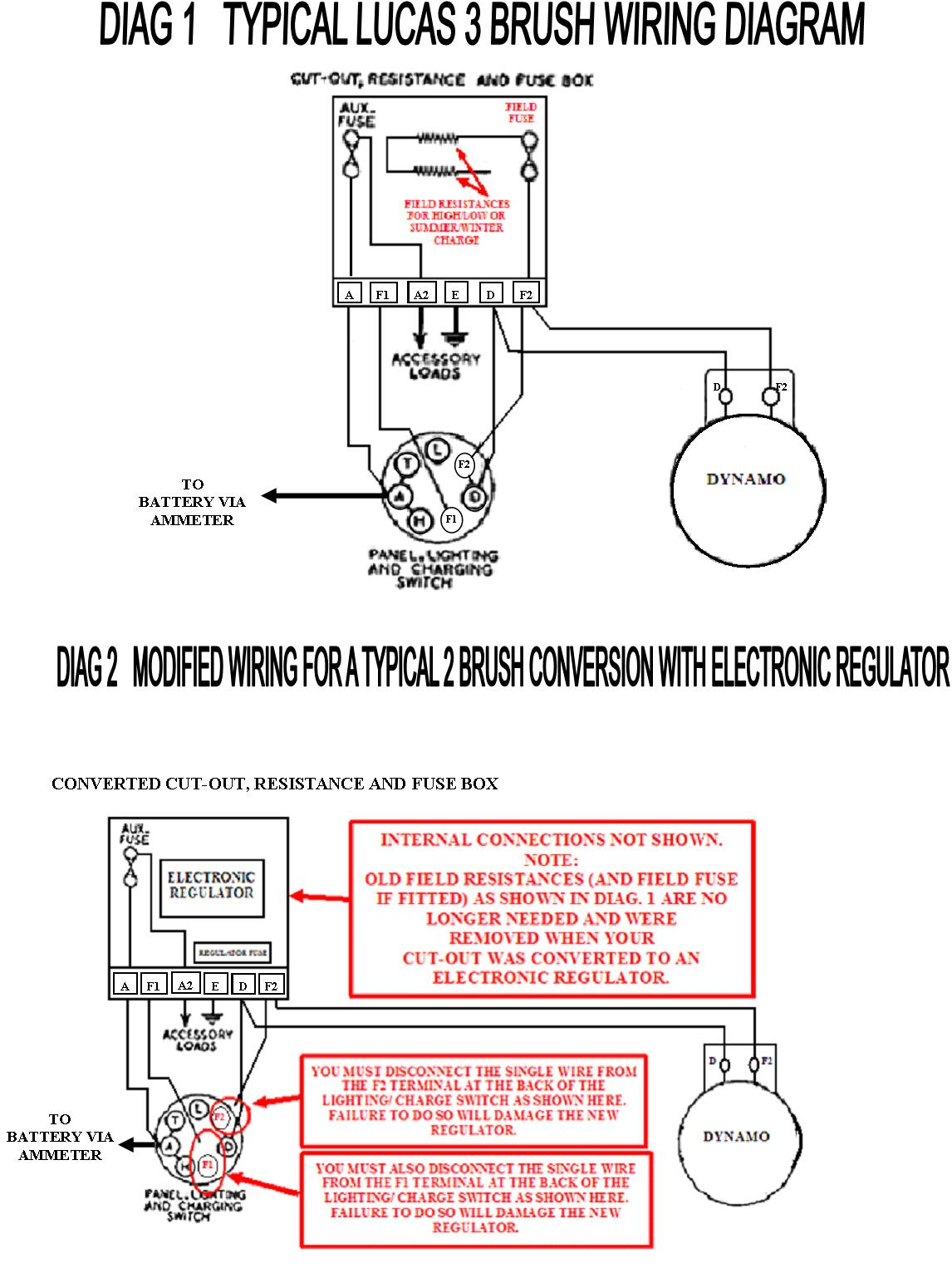 dynamo to alternator conversion wiring diagram 1976 honda cb750f lucas 3 brush dynamos mig welding forum