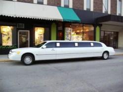 Dynasty's White Limousine