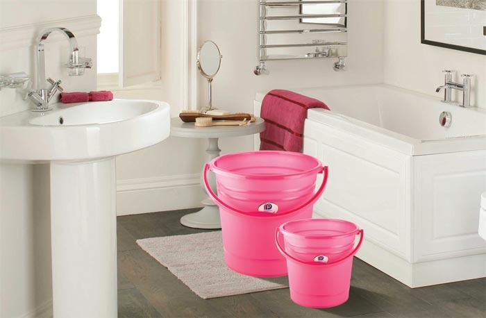 Plastic Bathroom Products Rectangular Plastic Containers