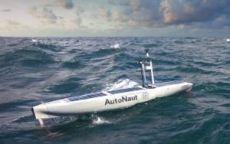 Autonaut 5m electrically propelled USV