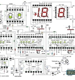 the circuit needs about 200 a 300 mamp 5 volt provide a adequate heatsink for your voltage regulator 7805 depending of the input voltage [ 1088 x 821 Pixel ]