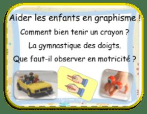 Graphisme de l'observation à la remédiation aider