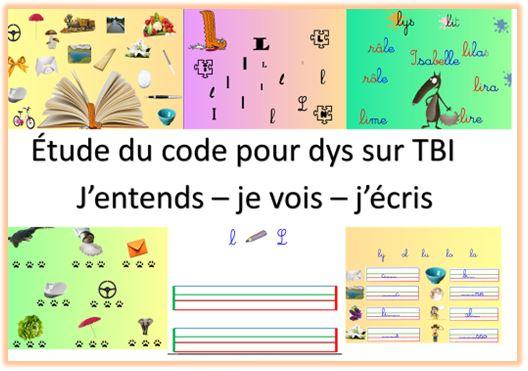étude du code pour dys TBI