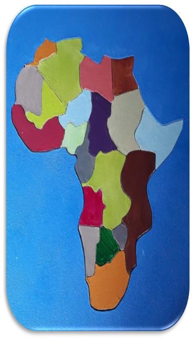 Comment réaliser une Carte de l'Afrique en Bois