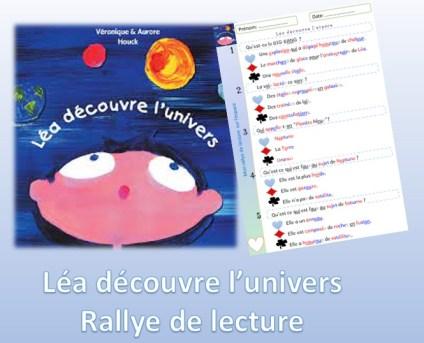 Léa découvre l'univers texte, exercice et rallye