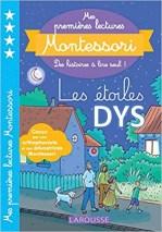 Montessori-les étoiles-texte-tapuscrit-Dys rallye dictées muettes