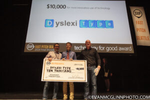 Winner SVP Fast Pitch social innovation contest in Seattle