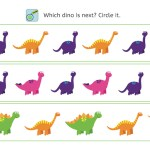 Dinosaur perception training