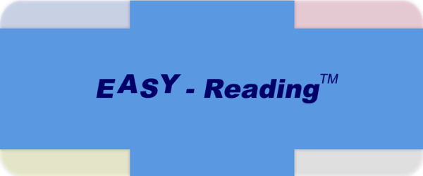 The Easy Reading Card - Easier reading with System!