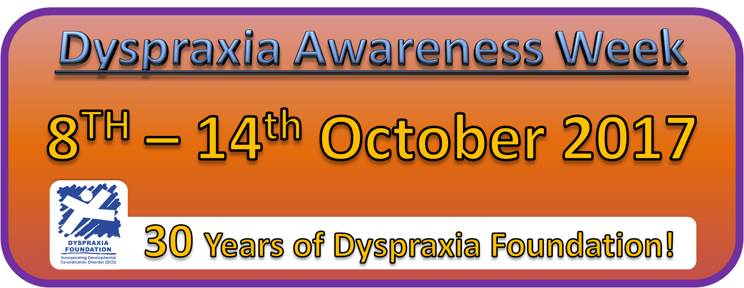 Dyspraxia Awareness Week