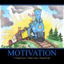 Motivational Blue Engine