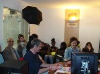 Vincent et Renan en enregistrement