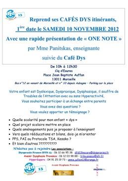 Café Dys 10-11-2012
