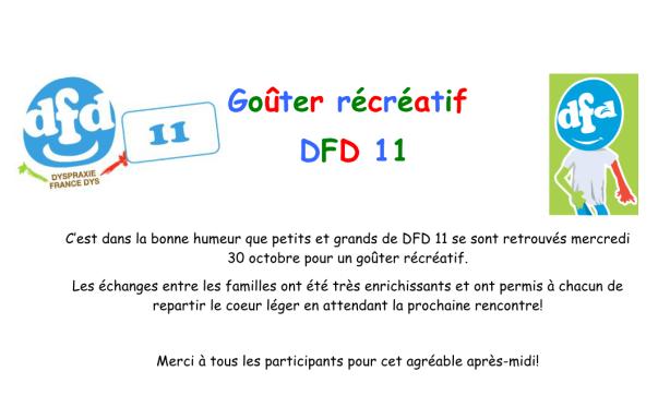 Goûter DFD11