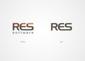 res logo design