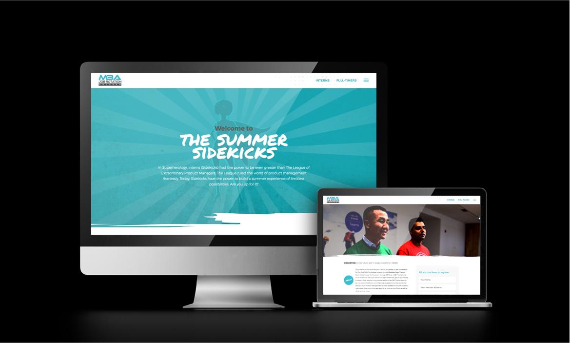 cisco's jrp league site on desktop and laptop