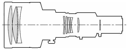 Minolta AF 600mm F4 APO A-mount lens info