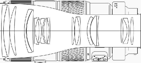 Minolta AF 70-200mm F2.8 APO G D SSM A-mount lens info